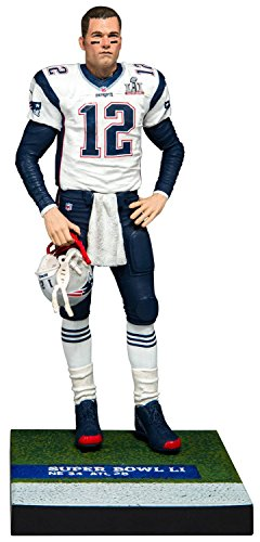 Mcfarlane Madden 18 Tom Brady Ultimate Team Series 2 Exclusive (Bobble Tom Head Brady)