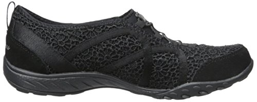 Skechers Basses Easy Femme Black Meadows Sneakers Fortune Breathe 67Uqnwr6