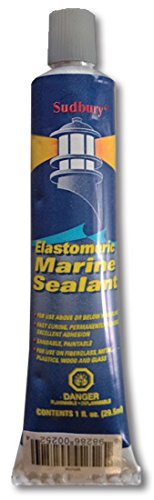 Sudbury Elastomeric Sealant 1 oz Clear by Sudbury®Boat Care Products