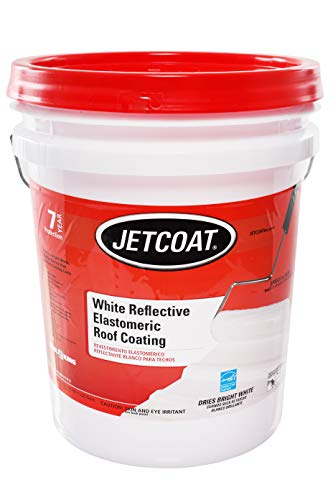 Jetcoat Cool King Elastomeric Acrylic Reflective Roof Coating