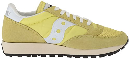 Running Yellow Saucony Jazz Originals Women's Shoe White Vintage IwY6Fw