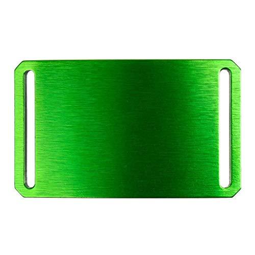 Men's Web Belt GRIP6 Green Belt Buckle