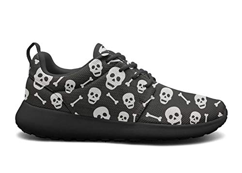rttyl et67u67 Unique Sneaker Mens Fashion Halloween Pattern