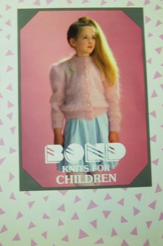 Bond Patons Knitting Pattern Book Knits For Children -