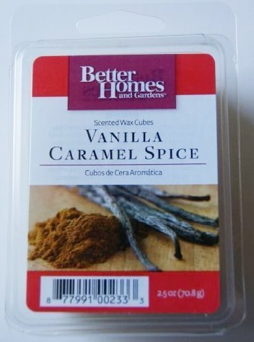 - Vanilla Caramel Spice Scented Wax Cubes