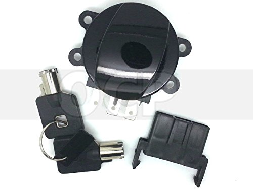 Black Side Hinge Ignition Switch For Harley Softail 03-10 repl OEM# 71313-96A