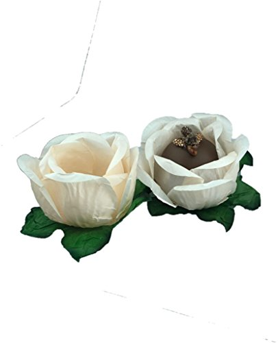 (Truffle Mini cupcake Wrappers cupcake liner Chocolate Wrapper Handmade truffle Cups,Truffle Liners, Truffle Wrappers for Wedding, baby shower, brigadeiro party supplies 20 count Pretty Cream)