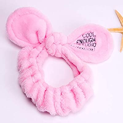 Apparel Accessories Women Cute Big Ears Comfortable Wash Face Bathe Hair Holder Elastic Headband Girls Hairbands Hair Accessories New Fashion