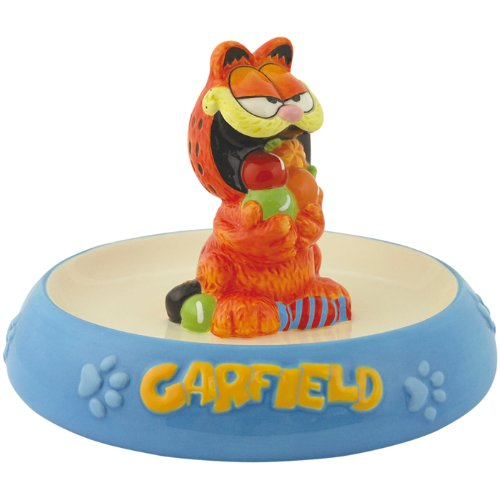 Garfield Candy - Westland Giftware Garfield Ceramic Candy Dish 4-3/4-Inch Magnetic Salt and Pepper Shakers