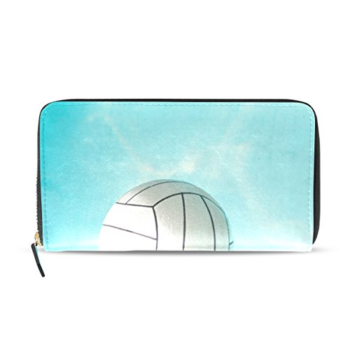 Ball Card Water Credit Holder Bennigiry Lady Clutch Swimming Pool Long Purse Wallet Wn4azg