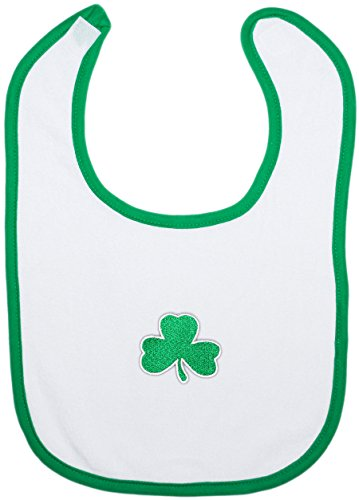 Irish Baby Shamrock Bib