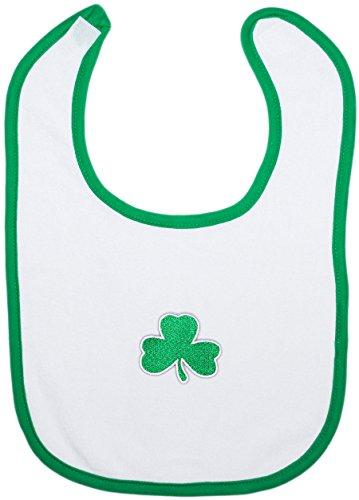 (Irish Baby Shamrock Bib)