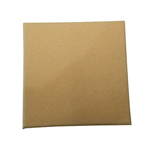 SODIAL 16 pieces of kraft cardboard jewelry box, 9 9 3cm