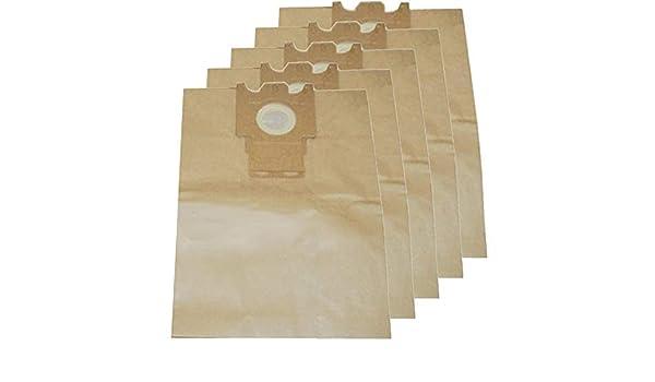 SPARES2GO Bolsas de papel para aspiradora Miele (Pack de 5): Amazon.es: Hogar