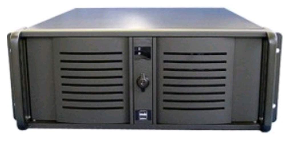 Casetronic Eagle-4261 4U, 9 Bays, NO Fans, case only, Good for 12x 13 MB(Like D-400L-7), with 28' Rails Included with 28 Rails Included