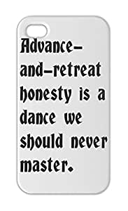 Advance- and-retreat honesty is a dance we should never Iphone 5-5s plastic case