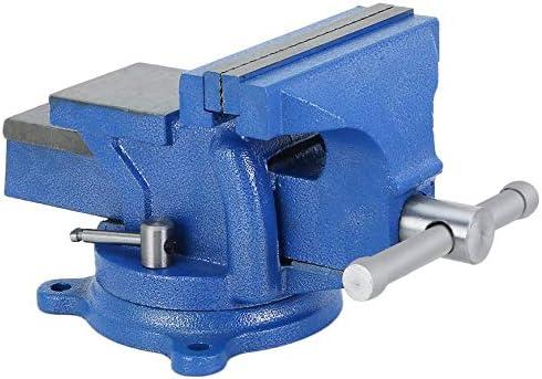 Pudincoco 5 Pouce 125mm /Établi Vice Op/ération Plateforme /Étau Atelier Pince Ing/énieur M/âchoire Pivot Base /À Pivot Lourde Outils