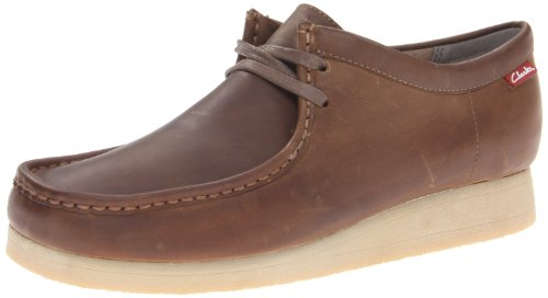 CLARKS Men's Stinson Lo, Beeswax Leather, 12 M US (Clark Kids Shoes)