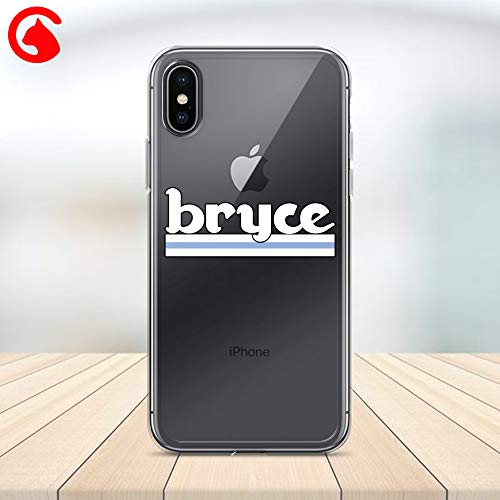 CatixCases Bryce Harper Funny Inspired T Shirt Case Cell Phone Plastic Сlear Case for Apple iPhone X/XS/XR/XS Max / 7/8 / plus iPhone 6 / 6S plus Protector Protective Cover Art Design