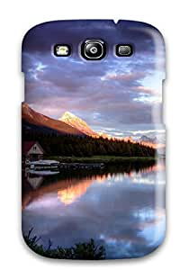 KrqxaQF29161xRumQ Faddish Lake Case Cover For Galaxy S3