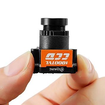 trecce EACHINE 1000TVL FPV Camara 1/3 CCD 110 Grados Lente 2.8mm NTSC /PAL: Amazon.es: Juguetes y juegos