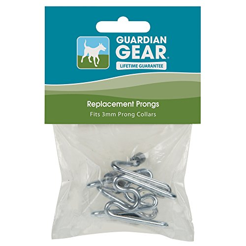 """Guardian Gear Chrome-Plated Steel Extra-Links Prong Dog Collar, 3¼"""""""