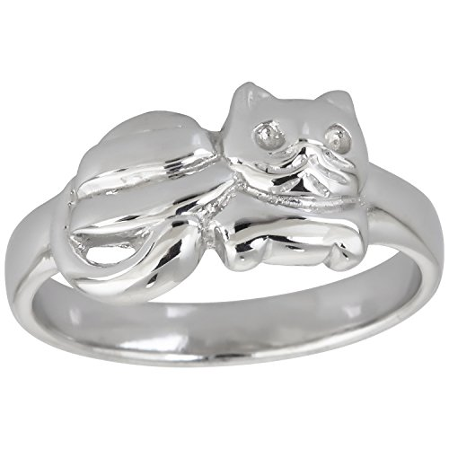 Sterling Silver Cat Ring (New Sterling Silver Cat Ring)