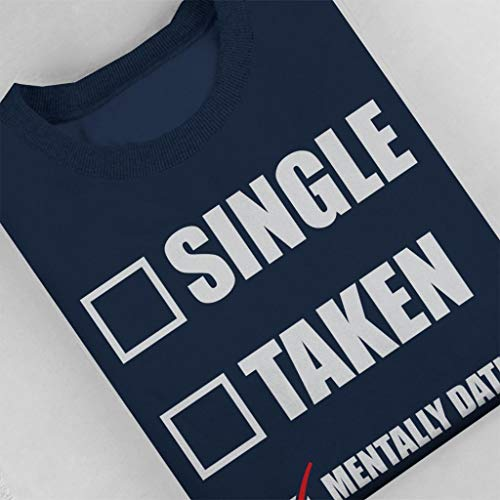 Dating Navy Navy Navy Navy Brie Sweatshirt Sweatshirt Sweatshirt Sweatshirt Alison Women's Coto7 Blue Mentally Hxwq8ZZU