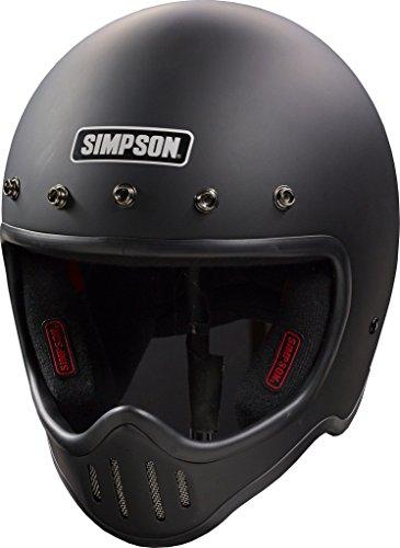 Simpson M50DS3 Model 50 Dot Helmet Sml M. Blk