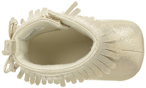 Pictures of ABG Baby Girls' Fringe Boot W/Bow GNB55395AZ2 Gold 2