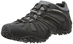 Merrell Men's Chameleon Prime Stretch Hiking Shoe,black,13 M Us