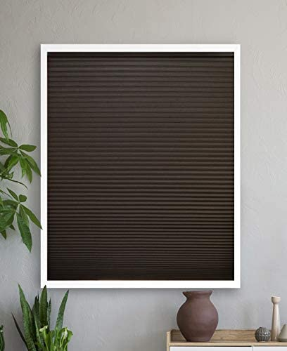 Luxr Blinds Custom-Made Blackout Cellular Shades Cordless Size 56″ W x 49″ to 60″ H