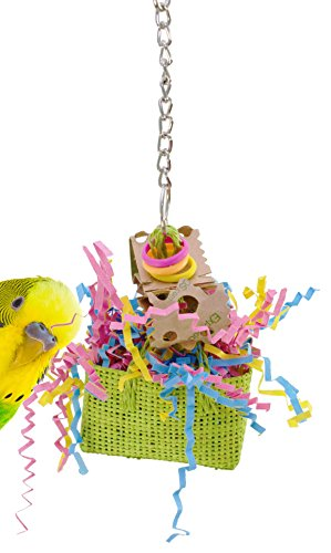 1070 Swiss Bag Bird Toy Parrot cage toys cages cockatiel parakeet budgie conure -