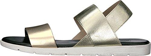 Furla Womens Magia Sandals T.10 Bronzo Vitello Metal