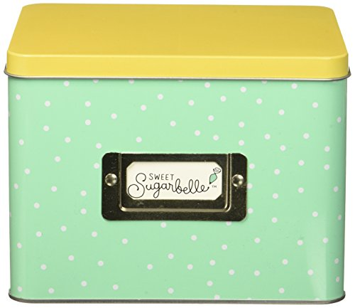 American Crafts 374097 Sweet Sugarbelle Recipe Card Tin
