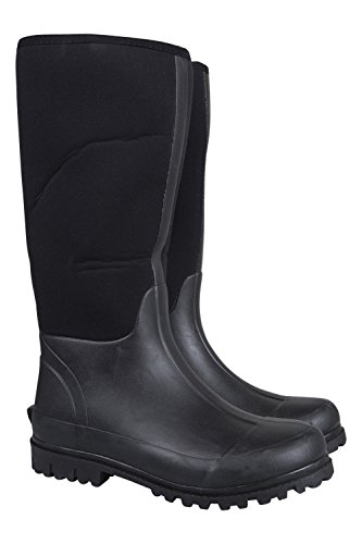 Casual Bottes En Nettoyer Warehouse Solides Impermables Et De Mountain Durables Faciles Neoprene Mens Wellies Caoutchouc Pluie Mucker Cn1vYwqtH