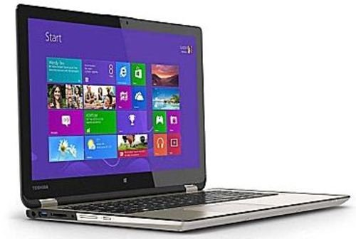 Toshiba Satellite Radius 2 In 1 15 6  Touch Screen Laptop Intel Core I5 8Gb Memory 750Gb Hard Drive Satin Gold