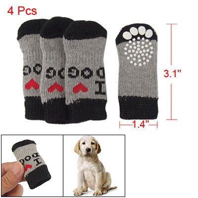 Calcetines de invierno acrílico Wear para perros