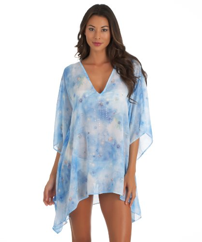 LUXE By Lisa Vogel - Celestial Tunic-Blue OS
