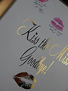 image regarding Kiss the Miss Goodbye Printable identify - Kiss The Miss out on Goodbye Visualize Body