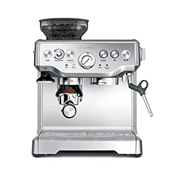 Breville Barista Express Espresso Machine, Brushed Stainless Steel Bes870 Bss by Breville