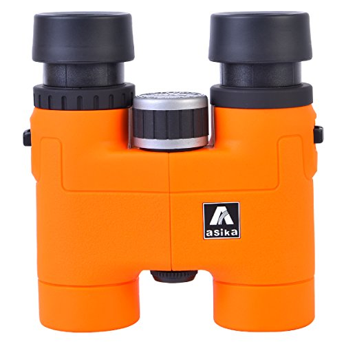 8X32MM Hign Definition Binoculars With BAK4 Prism and FMC Film Coated Lens For Outdoor Sporting and Hunting Etc. (Orange 8X32MM) by HS