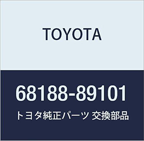 TOYOTA Genuine 68188-89101 Window Weatherstrip