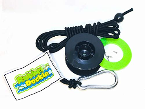 (Rubber Dockie Tether Kit (Version 2), Black)