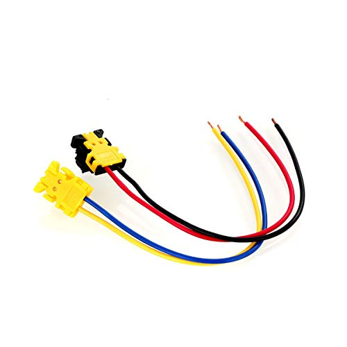 - DEALPEAK 2pcs Airbag Clock Spring Plug Air Bag Connector Clock Spring Wire For Dodge Ford Jeep