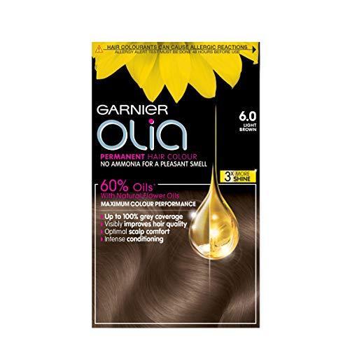 Garnier Olia Permanent Hair Colour 6.0 Light Brown