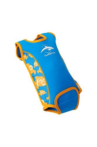 Heated Nylon Vest - Konfidence Babywarma Baby Wetsuit - Clownfish (12-24 Months)