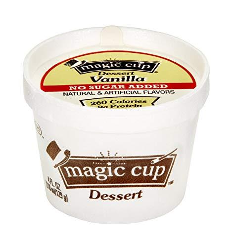 Magic Cup No Sugar Added Vanilla 4 oz-Pack of 48