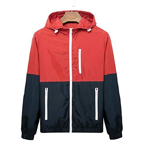 yu outerwear Men Casual Spring AutumnJacket Hooded for sale  Delivered anywhere in Canada