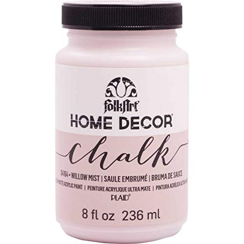 FolkArt 34164 Home Decor Chalk Furniture & Craft Paint in Assorted Colors, 8 Ounce, Willow Mist